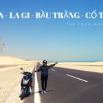 Review cung phượt Sài Gòn – La Gi – Bầu Trắng – Cổ Thạch