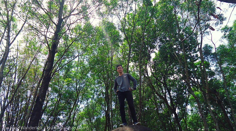 Leo núi Chứa Chan, dựng lều đảo Ó