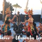 Watching Kecak dance in Uluwatu