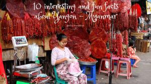 Travel to Yangon Myanmar