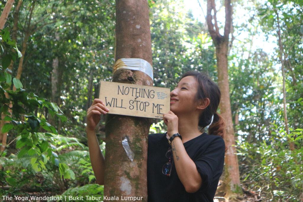 Hiking Bukit Tabur, Taman Melawati, Kuala Lumpur