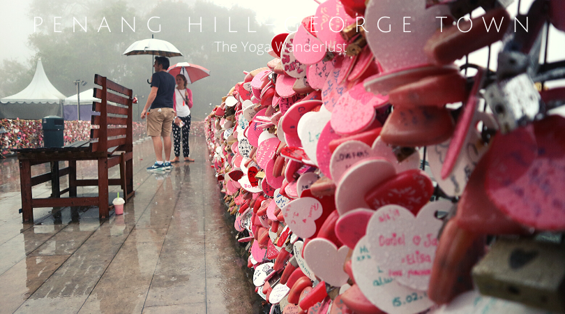 Love Lock Street, Penang