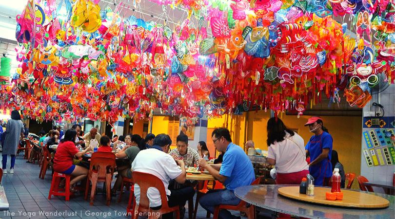 Lantern restaurant in Penang